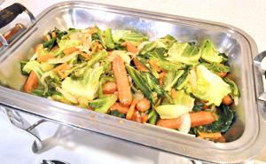 写真:野菜炒め